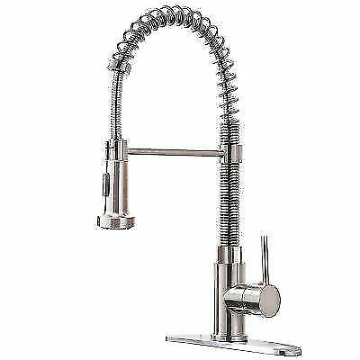 Oulantron Wf1011 Single Handle Pull Down Sprayer Kitchen Faucet For Sale Online Ebay