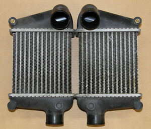 1990-96-Nissan-300ZX-Z32-Twin-Turbo-OEM-Side-Mount-Intercooler-Pair-Left-Right