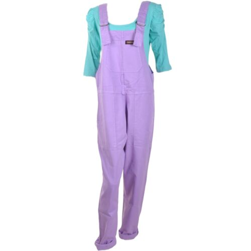 Run et Fly Violet//Lilas Pastel Coton Dungarees Overalls 8 10 12 14 16 18 viole
