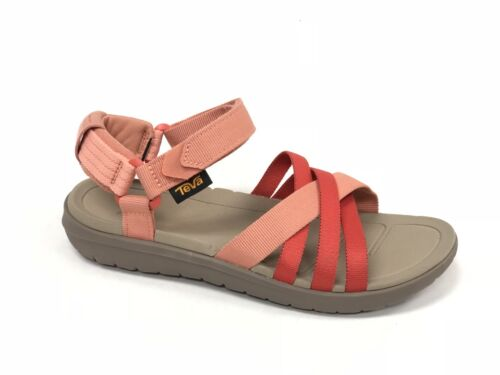 TEVA SANBORN CORAL SAND STRAPPY SPORT WATER SANDALS WOMENS sizes 1015161 OUTDOOR