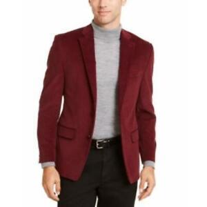 Ralph Lauren Men's Classic Ultraflex Corduroy Sport Coat, Red, 50R, $295, NwT