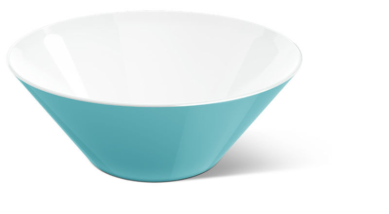Emsa mycolours Salad Bowl Dish Serving Bowl Varo Bowl Aquamarine