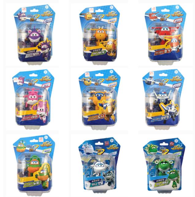 David Toy Super Wings Season3 Rescue Team Mini Zoey Transform Toy