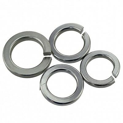 M6 / 6mm A4 316 STAINLESS STEEL SPLIT LOCK SPRING WASHERS Fit Our BOLTS & SCREWS