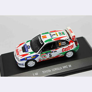 1-43-Car-Model-80038-TOTOYA-COROLLA-WRC-98-CASTROL