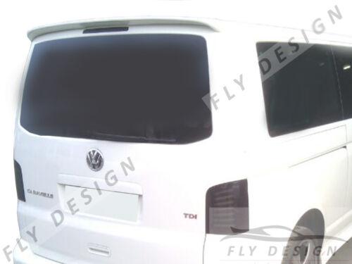 VW T5 Transporter Van Roof Spoiler sul tetto Alettone Aero Aileron arrière Apron