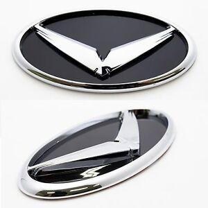 3d Eagle Chrome Trunk Emblem Decal Badge 1ea For Hyundai