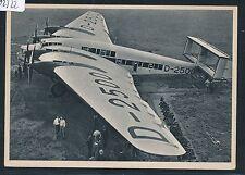 "02322) DR Dessau, Foto-AK Junkers ""Sammelkarte"" ? G-38 D-2500 Techn.Daten"