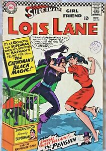Lois-Lane-70-FN-1st-Silver-Age-Catwoman-71-to-complete-story-Superman-Comic