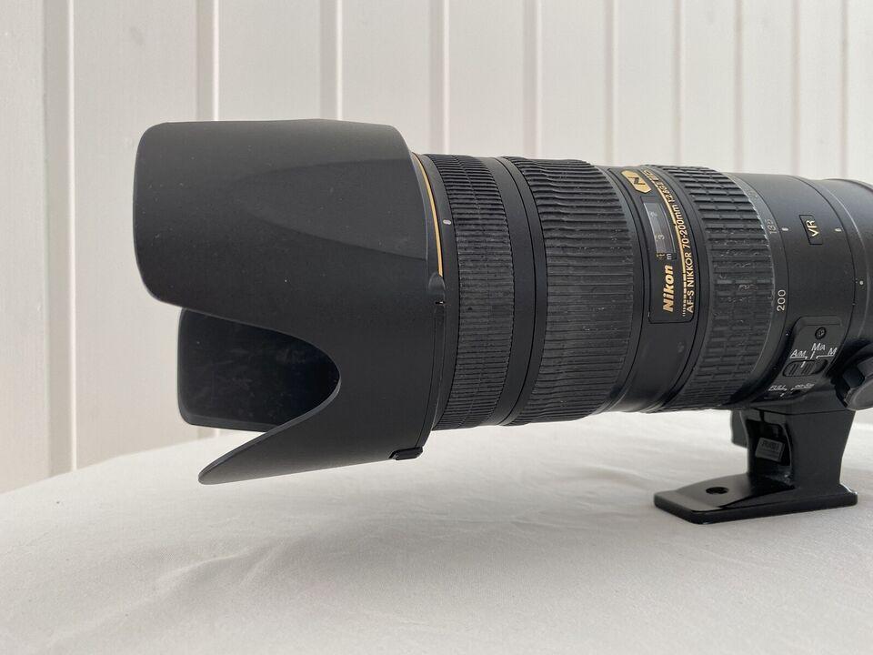 Teleobjektiv, Nikon, ED VR 20088727