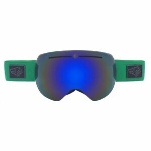 3a8e5504a22 Image is loading Bearz-Yeti-Green-Magnetic-Frameless-Snow-Snowboard-Ski-