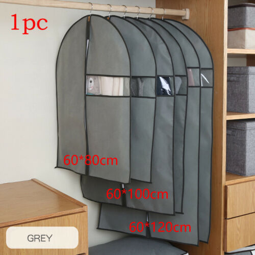 Household Clothes Dust Cover Wardrobe Coat Storage Hanging-type Suit Protect Bag