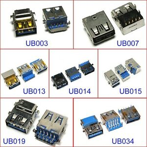 Usb Cable Motherboard Connector: USB CONNECTOR PORT MOTHERBOARD JACK For Toshiba Acer Lenovo ASUS rh:ebay.co.uk,Design