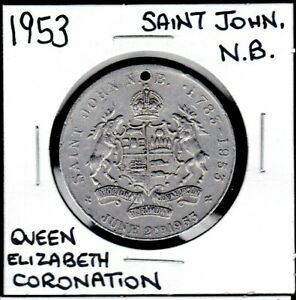 1953-Saint-John-New-Brunswick-Queen-Elizabeth-II-Coronation-Medal