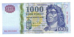 Hungary-Ungheria-1000-fiorini-2006-FDS-UNC-pick-195b-lotto-2496