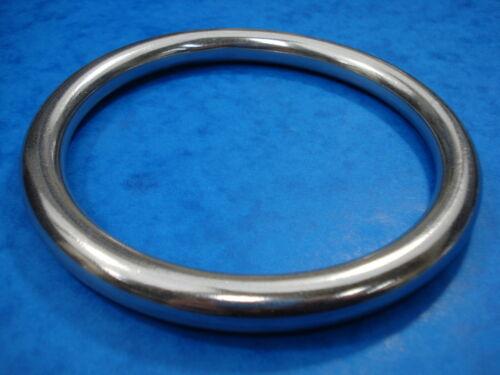 BRAND NEW 12MM X 122MM STAINLESS STEEL 316 ALDERNEY RING