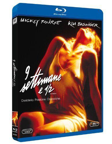 Blu Ray 9 Settimane 1/2 - Kim Basinger e Mickey Rourke ......NUOVO