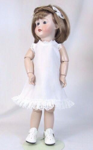 White A-line Slip and Bloomer set fits Bleuette Dolls