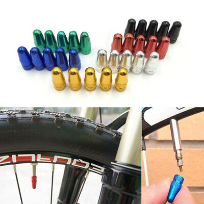 5xBike Bicycle Fixie Presta Wheel Rim Tyre Stems Air Valve Caps Dust Covers OS