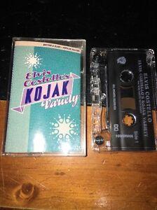 EVIS-Costell-039-s-KOJAK-VARIETY-Cassette-Tape