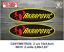 Sticker-Vinilo-Decal-Vinyl-Aufkleber-Adesivi-Autocollant-Akrapovic-1A-Exhaust miniatura 4