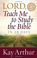 Lord, Teach Me To Study The Bible In 28 Days By Kay Arthur, (paperback), Harvest on Sale