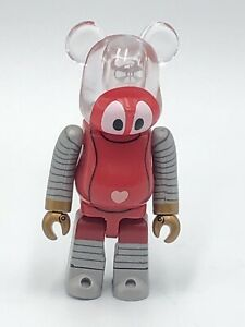 Medicom 100% Bearbrick Series 37 RoboCon Toei Bear Brick Japanese Toy Displayed