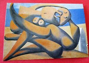 Figures Au Bord Figuras En La Orilla Del Mar Pablo Picasso Tarjeta Postal No Utilizados Ebay