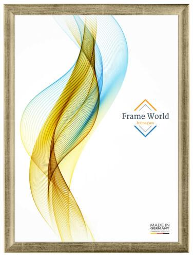 FW38 Bilderrahmen 50 x 65 cm entspiegeltes Acrylglas Puzzle Poster MDF Rahmen