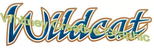 """Wildcat 57.5/"""" X 15/"""" RV Trailer  Graphic Decal Camper  Vinyl MADE FRESH!"""