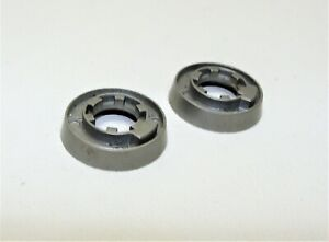 ~ 2 NOS Shimano Flat SIS Braze-On Shifter Bosses For Cannondale & Vitus Silver ~
