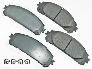 For Lexus RX350 RX450h Toyota Highlander Sienna Front Disc Brake Pad Set Genuine