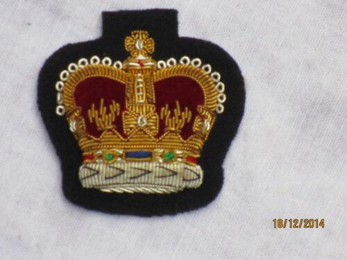 farbig auf schwarz No.1 Dress Armabzeichen Warrant Officer 2