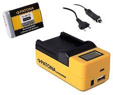 Patona Akku 1010mAh NB-13L + LCD 5 in1 Ladegerät für Canon PowerShot G9 X