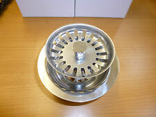LARGE Basket Strainer Waste for Double Bowl Sinks - Fits 90mm hole