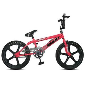 Rooster Big Momma Girls Bmx Bike 20 Skyway Mag Wheels Pink Gyro