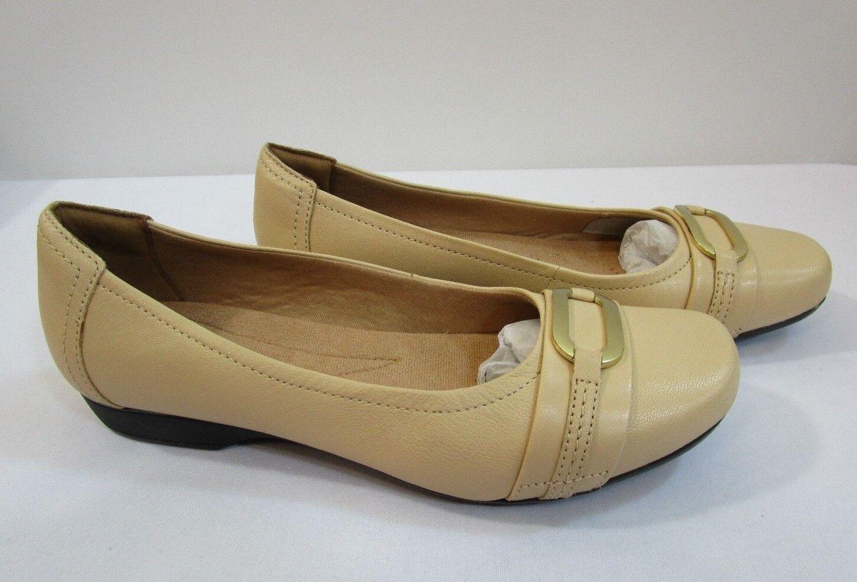 Clarks Blanche rose Chaussures Neuves en Boite Sz 11M