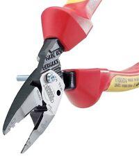 DRAPER Allemand 185mm 6 in 1 électriciens VDE Pince Coupante/Couper Câble pince,