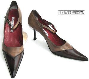 Marrone Scarpe 5 38 Sfumato Tutto gt; Luciano Padovan 39 Pelle xZw5q4WIa