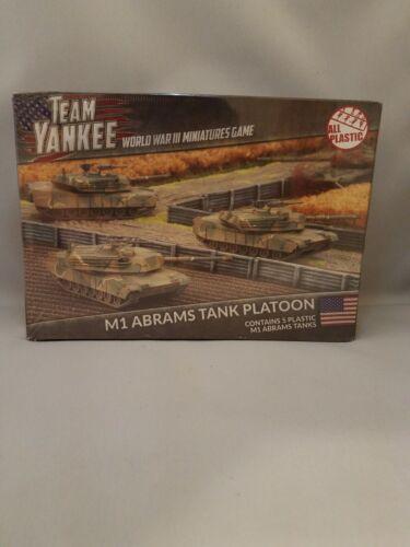 Team Yankee NIB//Sealed M1 Abrams Tank Platoon