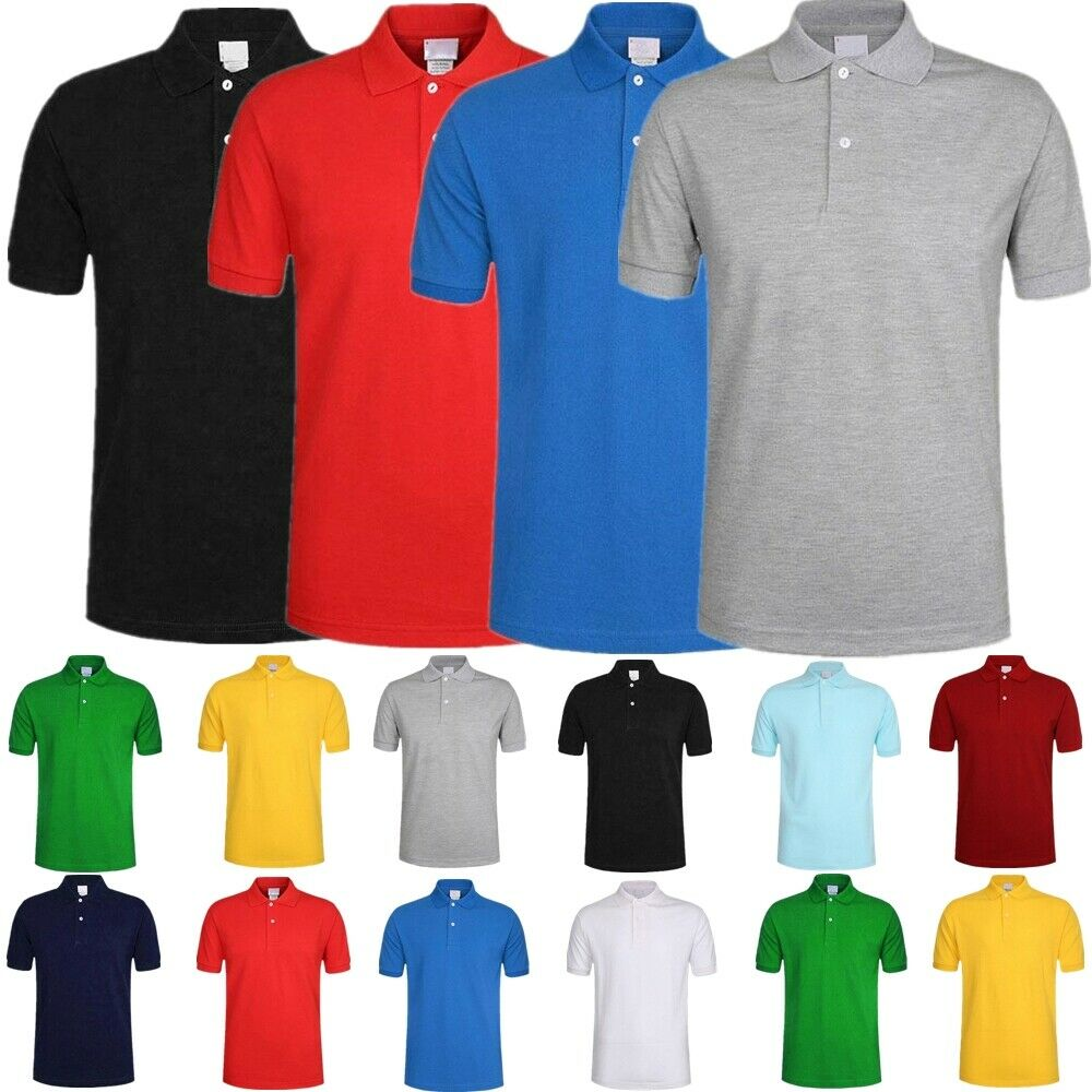 Men S Polo Shirt Dri Fit Golf Sports