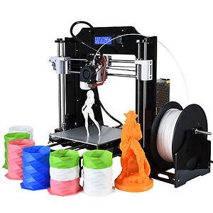 Adroit 3d Imprimante 200x200x210mm High Precision Reprap Prusa I3 À Faire Soi-même 3d Printer Kit V2017-afficher Le Titre D'origine Qualité SupéRieure (En)