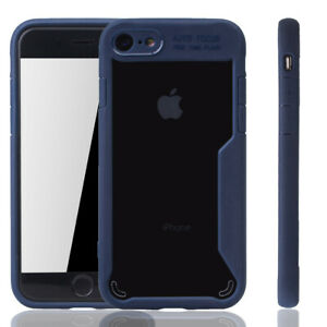 Apple-IPHONE-7-Funda-Estuche-Movil-Protector-Paragolpes-Azules