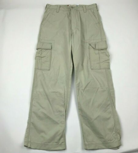 Levi's Cargo Men Relaxed Fit Beige Cargo Pants sz