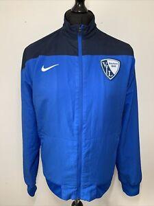 Nike VFL Bochum 1848 Blue Retro German Football Soccer Windbreaker Jacket Coat L
