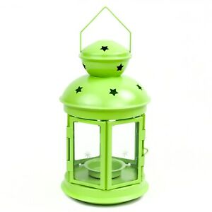 IKEA-ROTERA-Laterne-21cm-Kerzenhalter-Teelichter-Teelichthalter-hellgruen