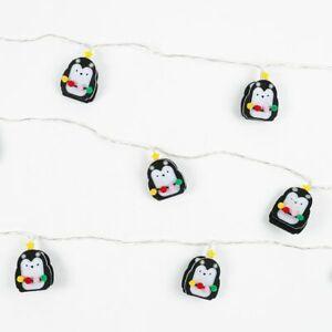 Fairy Lights LED Penguin Lights 2 metres 10 lights - (1216)