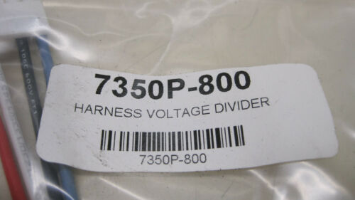 HTP 7350P-800 Harness Voltage Divider New Free Shipping