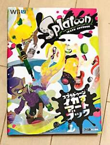 SPLATOON-Ikasu-Nintendo-Art-Book-2015-USED