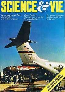 Alerte Science Et Vie N°660 Septembre 72:le Havre Prostaglandines Pluies Artificelle